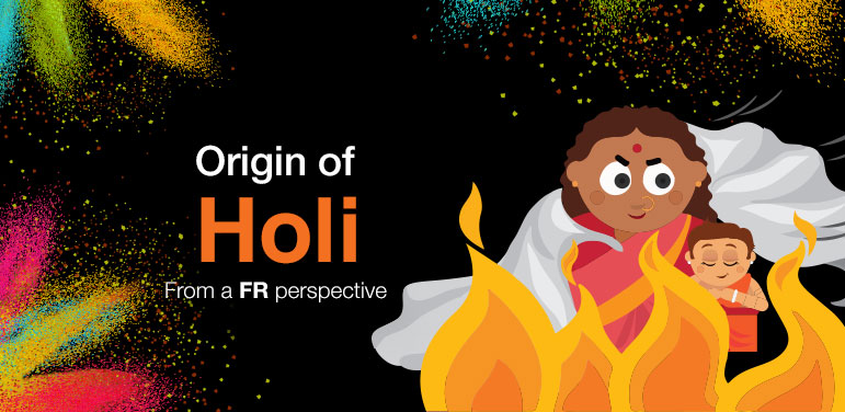 Origin of Holi - from a FR Perspective