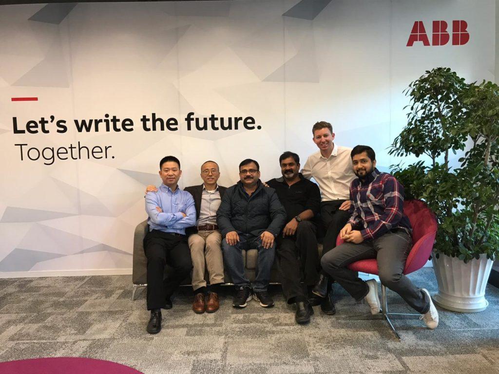 With the ABB Team