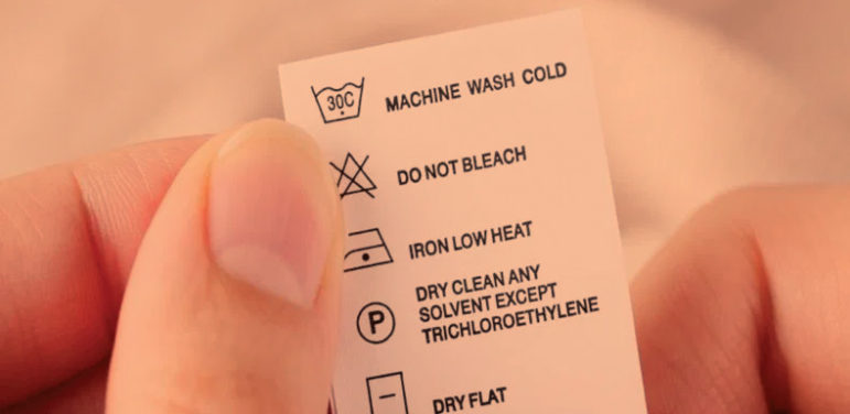 Wash care instructions for Flame Resistant Clothing